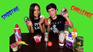 Smoothie Challenge  with Hayden Summerall & Jenna Ortega