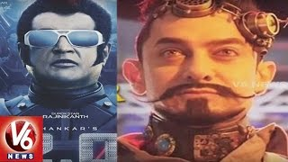 Rajini's Robo 2.0 To Clash With Aamir Khan's Secret Super Star   Bollywood Gossips   V6 News