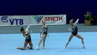 Acro World Championship 2010 Final: Hungarian Trio