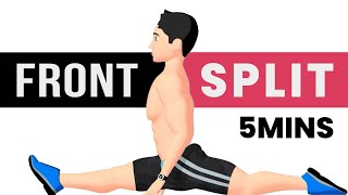 Front Split in 5 Minutes - Flexibility Training