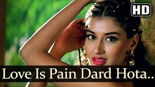 Love Is Pain Dard Hota - Sunil Shetty - Sonali Bendre - Takkar - Bollywood Songs - Alisha Chinoy