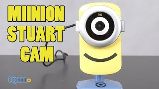 Despicable Me Stuart Cam HD Wifi Video Camera from Tend Insights