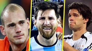 أشهر المنحوسين في تاريخ كرة القدم ! ● 5 لاعبين ومنتخب