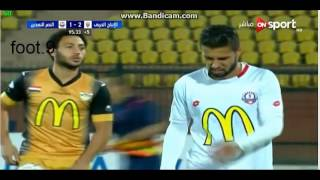 ملخص مباراة الانتاج الحربي والنصر للتعدين1-2/ 01-12-2016 /الدوري المصري