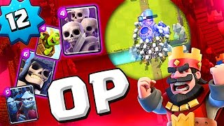 AMAZING NEW STRATEGY  ::  Clash Royale  ::  THIS IS SO OP :: SO MANY WINS