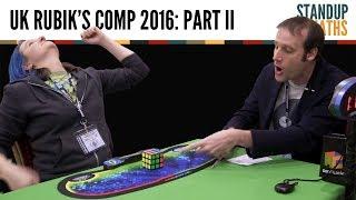 UK Rubik's Cube Championship 2016 PART II