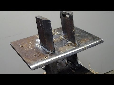 Log Splitter Build Six Way Wedge