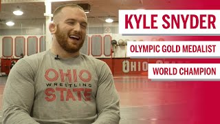 Catching Up with Olympic Champion Kyle Snyder | Ohio State | Big Ten Wrestling