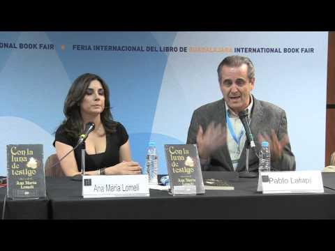Presentación CON LA LUNA DE TESTIGO de Ana María Lomelí