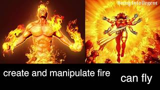 10 MARVAL CHARACTERS INSPIRED OR COPIED FROM INDIAN GODS