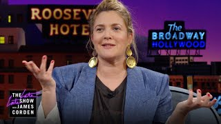 Drew Barrymore Would Like a Word with Her Younger Self