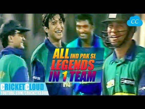 India PAK SL Legends in One Team Asia vs Rest of World Extraordinary Thriller Match