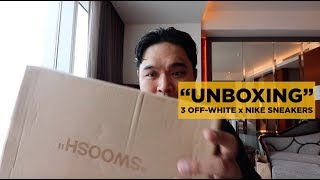 TRIPLE OFF-WHITE x NIKE & SUPREME UNBOXING (MY URBAN AFFAIR 2 HAUL)