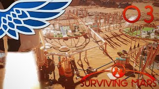 SURVIVING MARS | COLONY RUSH PART 3 - ELON MUSK SPACEX Let