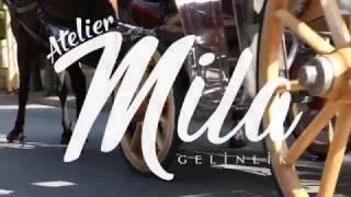 2017 gelinlik modelleri Atelier Mila