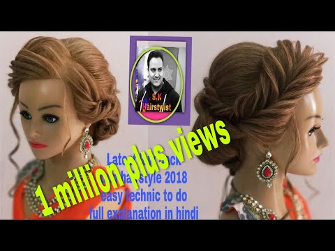 Xxx Mp4 Latest Low Bun Hairstyle 2018 Latest Back Low Bun Updo Hairstyle How To Do Judha Hairstyle 2018 3gp Sex