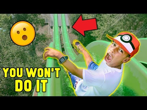 YOU WON T DO IT WATERPARK CHALLENGE Win 1000 The Royalty Family