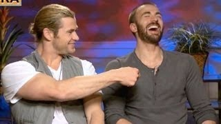 Chris Hemsworth & Chris Evans Funny Moments
