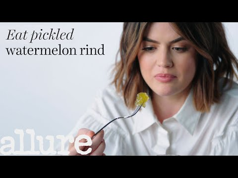 Lucy Hale Tries 9 Things She s Never Tried Before Allure