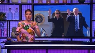 Melania Trump ontwijkt manlief Donald wederom! - RTL LATE NIGHT