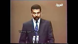 مأسـاة ساجـده بأخيهـا عدنان خـير الله وكلمة عـدي صدام حسين علي أثر وفاة خاله عدنان
