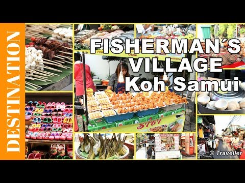 Fisherman's Village Night Market just the food, Koh Samui attractions - Thai Street food at its best