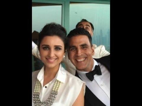 Akshay Kumar & Parineeti Spotted At The Airport | Bollywood News