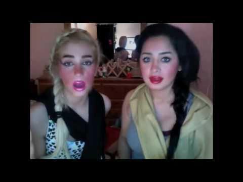 Iranian girls teach jendeh bazi