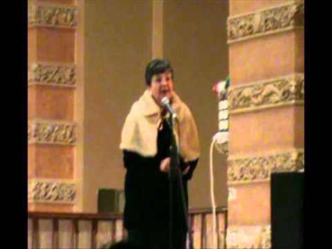 Concert in Odessa 6 03 2011 Vladimir Shehtman violin narrator Anna Rozen
