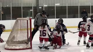 GAME #9 Regular Season: (2017-10-28) Tecumseh Eagles Novice AA vs. Riverside Rangers