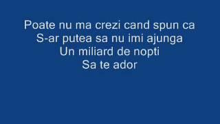 Lidia Buble ft Adrian Sina - Noi simtim la fel Versuri