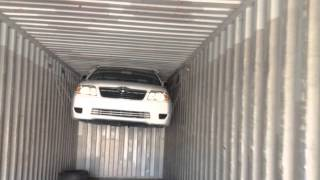 How to import complete Toyota Corolla packed inside container from Japan?