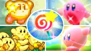 Evolution Of Invincible Candy In Kirby Games (1992-2018)