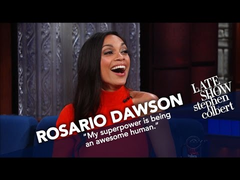 Rosario Dawson Promises She s Dating Eric Andre