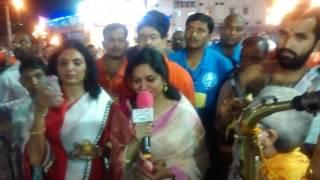 TIRUMALA Bramostavam Singer Sunitha with KSM.KSU