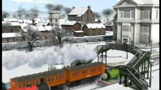 Lokomotiva Tomáš S14E14 355 Tomáš a snehuláková oslava