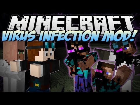 Minecraft VIRUS INFECTION Can You Save the World from EVIL Mod Showcase