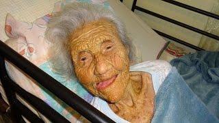 Doña Delia, quizás la puertorriqueña más vieja del mundo.