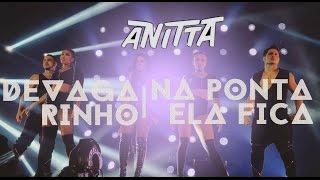 Devagarinho/Na Ponta Ela Fica - Anitta e Mc Delano (Bang Tour) no Barra Music