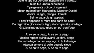 Salmo - 7 AM (Lyrics-Testo)