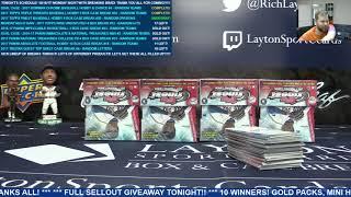 2017 Topps Finest Baseball Hobby 8 Box Case Break #20 – RANDOM DIVISIONS