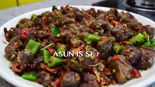 HOW TO MAKE ASUN FOR CHRISTMAS SPICY GRILLED GOAT MEAT