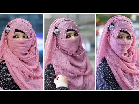 Xxx Mp4 Most Unique And Eating Friendly Hijab Niqab Style Tutorial With Front And Back Coverage NiqaBee 3gp Sex