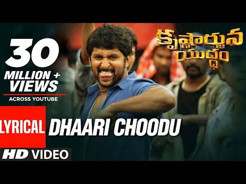 Xxx Mp4 Dhaari Choodu Full Song With Lyrics Krishnarjuna Yuddham Songs Nani Hiphop Tamizha 3gp Sex