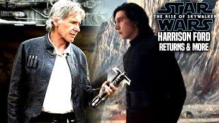 The Rise Of Skywalker Harrison Ford Is Back & More (Star Wars Episode 9)