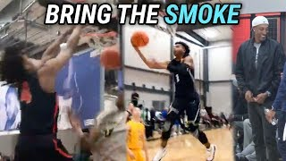 Jalen Lecque, Cole Anthony & More GO DUMB At EYBL Day 1! INSANE ANKLE BREAKERS  + DUNK HIGHLIGHTS 😱