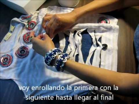 Tutorial como customizar una camiseta o blusa usadas.wmv