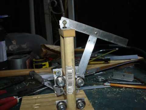 homemade pcb drill pres