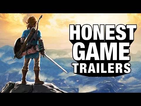 ZELDA BREATH OF THE WILD Honest Game Trailers