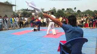 Arjun fight karate